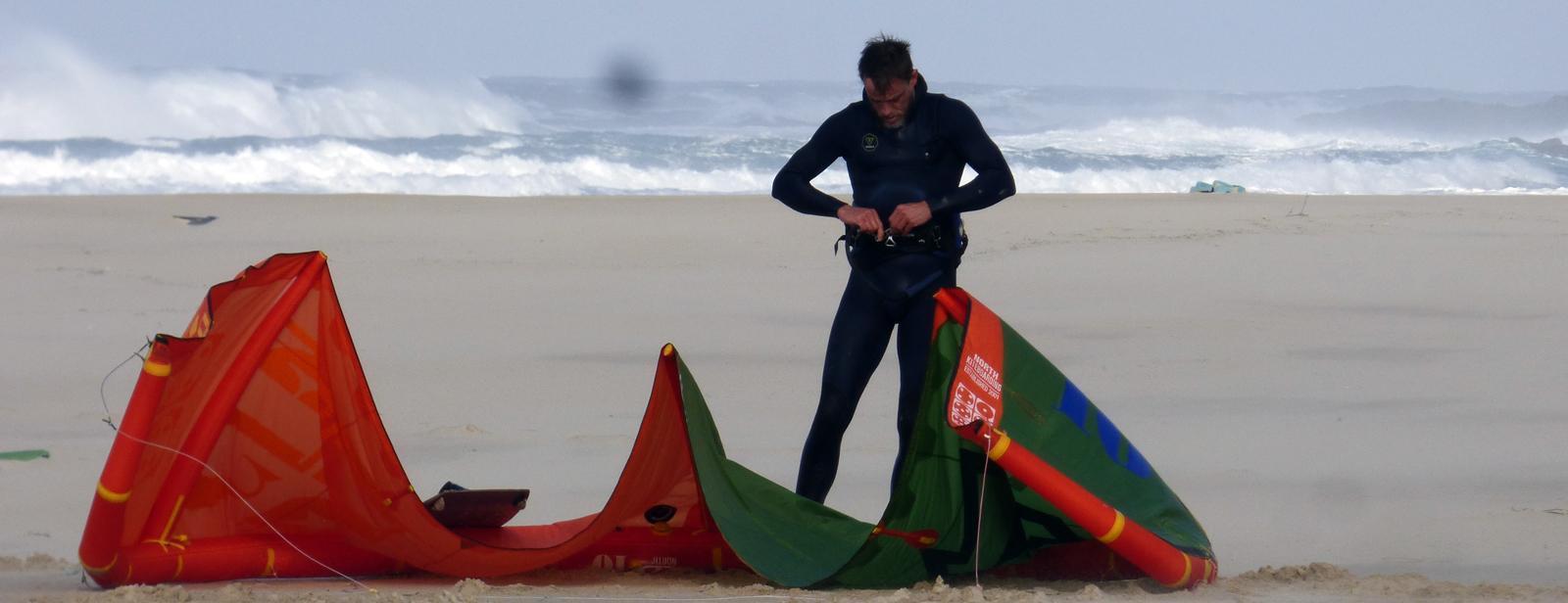 location de matériel de kitesurf en galice