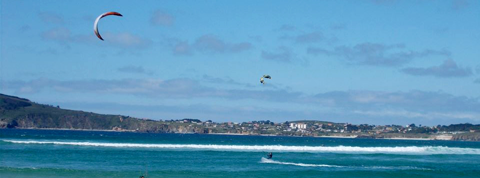 kite and surf in galicia