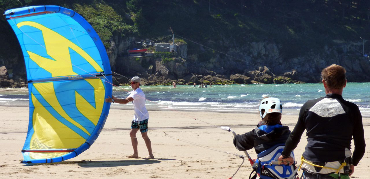 stage de kitesurf en galice